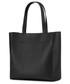 Torebka skórzana VOOC Shopperbag KATE czarna P44