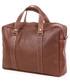 Torba na laptopa VOOC PROMO SET Aktówka biznesowa ze skóry brown TC11 + etui EPD1 na laptop