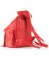 Plecak VOOC PROMO SET Plecak Lets Go Boho EP 17 Red + Porfel Skórzany Damski PPD3 Red