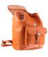 Plecak VOOC Duży plecak skórzany Vintage P38