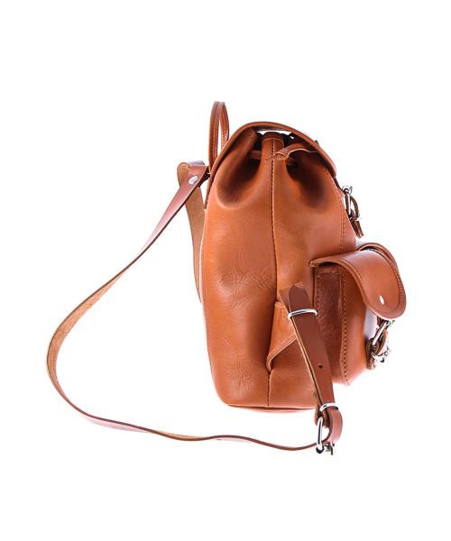 c91fc7ea60891 Plecak VOOC Mały plecak skórzany Vintage P2