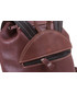 Plecak VOOC Plecak skórzany retro TC13 brąz