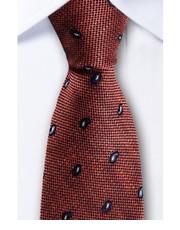 Krawat Jedwabny krawat w kolorze miedzi 1673 - yoos.pl White Scissors