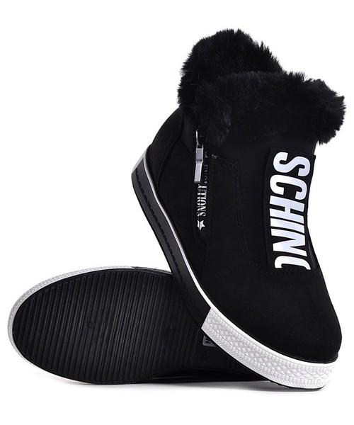 dd8ada39904f6 Laza Czarne buty sportowe damskie, botki - Butyk.pl