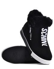 botki Laza - Czarne buty sportowe damskie