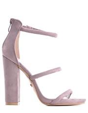 5953e672baaa44 Oleksy Różowe sznurowane sandały damskie 2129/C12, sandały - Butyk.pl