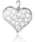 Naszyjnik Colibra Zawieszka, srebro, ażurowe serce