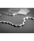 Naszyjnik Colibra Naszyjnik, łańcuszek, srebro, skręcony