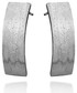 Kolczyki Colibra Kolczyki, srebro, diamentowane, podłużne