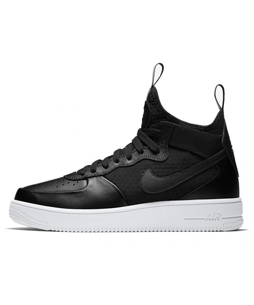 air force 1 czarne z biala podeszwa