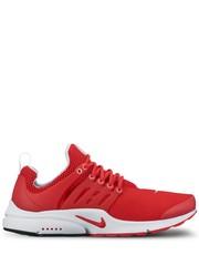 półbuty męskie Nike - Buty  Air Presto Essential czerwone 848187-601
