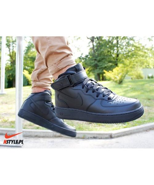 Buty sportowe Nike Air Force 1 mid '07 czarne 315123 001