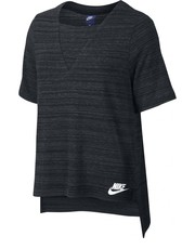 Bluzka Koszulka  Sportswear Advance 15 Top czarne 838954-010 - Nstyle.pl Nike