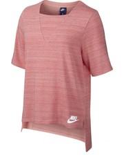 Bluzka Koszulka  Sportswear Advance 15 Top różowe 838954-808 - Nstyle.pl Nike