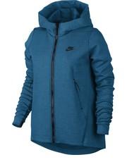 bluza Nike - Bluza  Sportswear Tech Fleece Hoodie niebieskie 831709-457