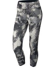 Legginsy Spodnie  Power Essential Running Crop czarne 848002-010 - Nstyle.pl Nike