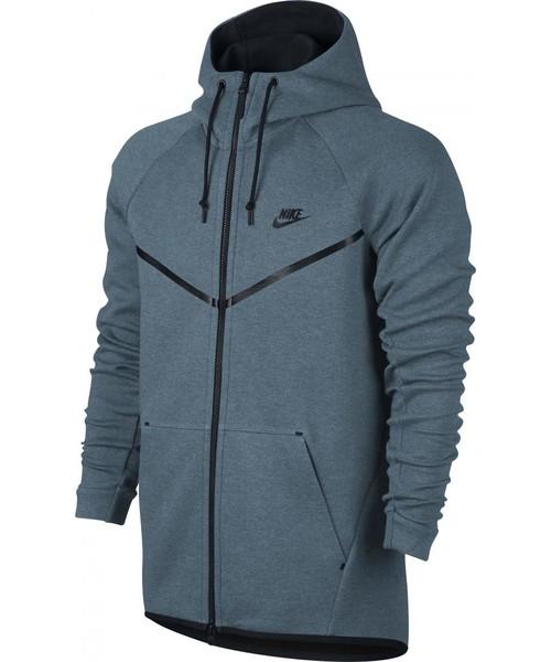 c4f86e54d Bluza męska Nike Bluza Sportswear Tech Fleece Windrunner Hoodie niebieskie  805144-055