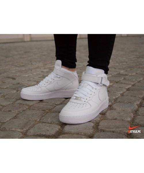 Buty Nike Air Force 1 Mid 06 białe 314195 113