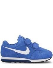 Sneakersy dziecięce Buty  Md Runner 2 (psv) niebieskie 807317-406 - Nstyle.pl Nike