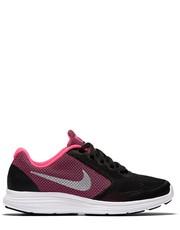 Sportowe buty dziecięce Buty  Revolution 3 (gs) czarne 819416-001 - Nstyle.pl Nike