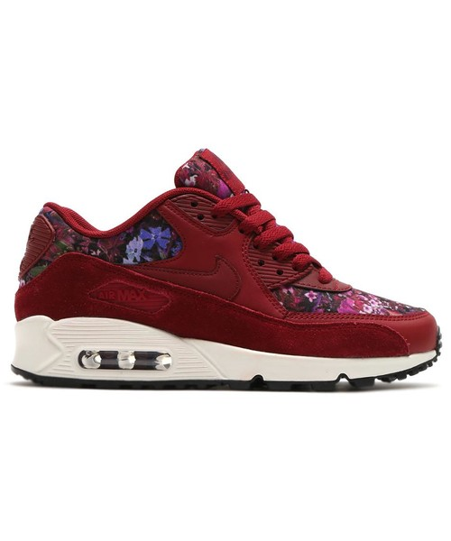 buy popular 5585e 79912 Sneakersy Nike Buty Wmns Air Max 90 Se czerwone 881105-600 buty air max w  kwiaty