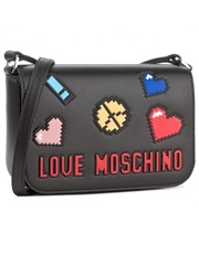 Listonoszka Black Moschino bag with pixels - motiveandmore.pl Motive & More