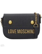 Torebka Black Moschino bag with bandana - motiveandmore.pl Motive & More