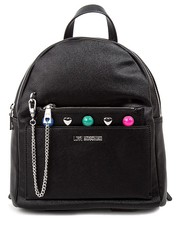Torebka Black Moschino backpack - motiveandmore.pl Motive & More