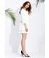 Sukienka Motive & More Sukienka Mimi Silk ecru