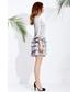 Sukienka Motive & More Sukienka Mimi Silk srebrzysty popiel
