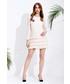 Sukienka Motive & More Sukienka Lila pudrowy róż