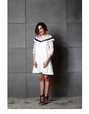 Sukienka Sukienka Bella Ecru - motiveandmore.pl Motive & More