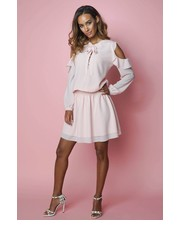 Sukienka Kylie II Pudrowy Róż - motiveandmore.pl Motive & More