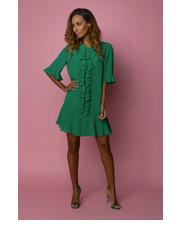Sukienka Sukienka Verona Szmaragd - motiveandmore.pl Motive & More