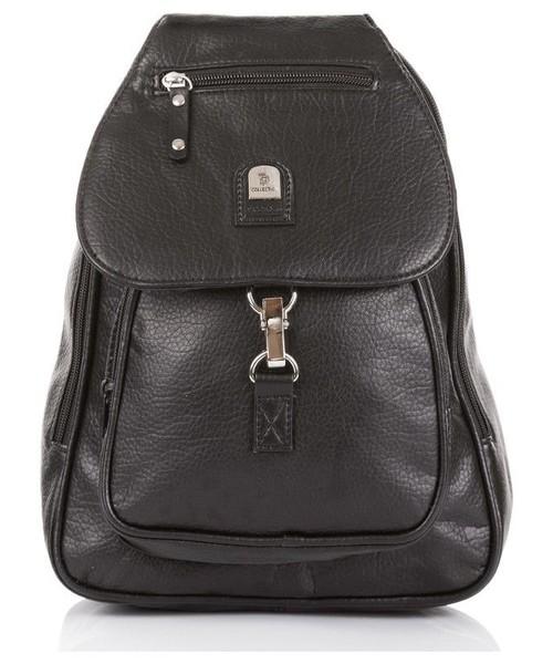 40b1ffe82dc31 torebka Phoenix Miejski czarny plecak damski nieprzemakalny