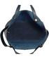 Torebka EVANGARDA Wygodna granatowa torebka damska shopper bag