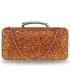 Torebka EVANGARDA Mieniąca torebka wizytowa pomarańczowa