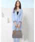 Torebka EVANGARDA Modna klasyczna torebka damska szara