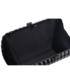 Kopertówka EVANGARDA Metalowa szkatułka torebka wizytowa czarna