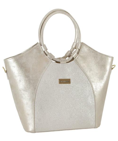 7ac484c58e657 torebka CARLA BERRY Elegancka stylowa torebka damska w kolorze złota