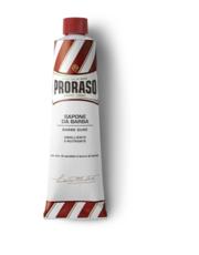 Pianka do golenia krem do golenia linia czerwona 150ml - AmbasadaPiekna.com Proraso