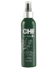 lakier do włosów CHI Tea Tree Oil Blow Dry Primer Lotion 177 ml - AmbasadaPiekna.com