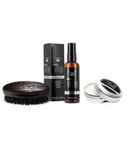 kosmetyk do brody Vines Vintage - Zestaw do pielęgnacji brody + Szczotka do brody