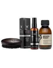 Kosmetyk do brody Zestaw do pielęgnacji brody Olejek + Szczotka+Szampon - AmbasadaPiekna.com Dear Beard