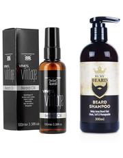 Kosmetyk do brody Zestaw do pielęgnacji brody szampon+ olejek - AmbasadaPiekna.com By My Beard