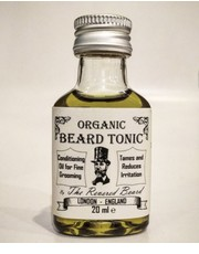 Kosmetyk do brody The Revered Beard Organic Tonic olejek do brody 20ml - AmbasadaPiekna.com Half Ounce London