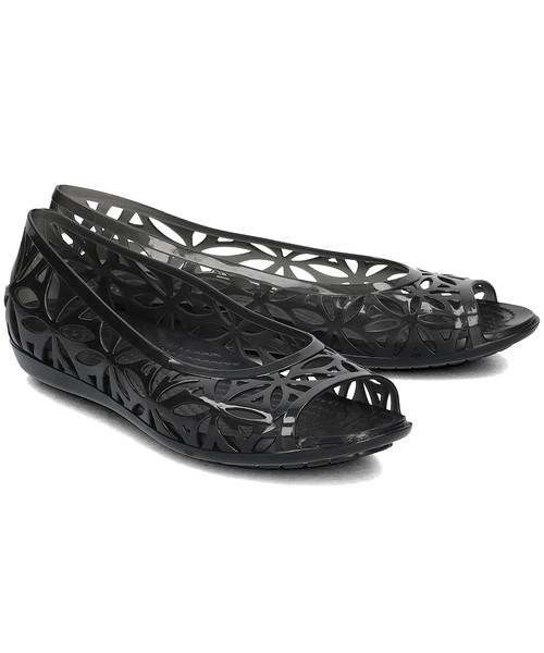 balerinki Crocs Isabella Jelly II Baleriny Damskie 204941 BLACKBLACK