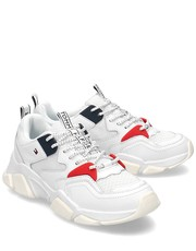 Sneakersy Chunky - Sneakersy Damskie - FW0FW04065 100 - Mivo.pl Tommy Hilfiger