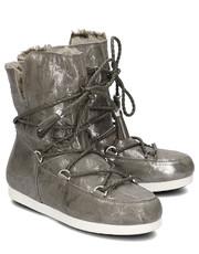 bdb789f5a2d7a Śniegowce Far Side Mid Raw - Śniegowce Damskie - 24200100002 - Mivo.pl Moon  Boot