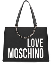 Shopper bag Canvas Embroidery - Torebka Damska - JC4112PP17LO0000 - Mivo.pl Love Moschino